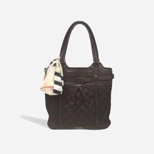 🌿Burberry🌿 Vintage Lambskin Shoulder Bag Brown